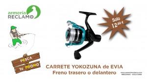 Promo 3 CARRETES YOKOZUNA