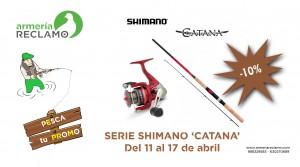 Promo 4 SHIMANO CATANA