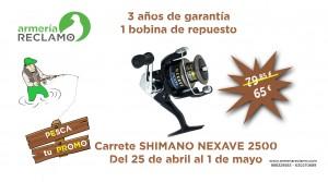 Promo 6 SHIMANO NEXAVE