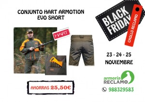 BLACK FRIDAY HART ARMOTION EVO SHORT