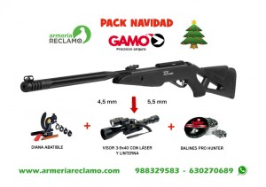 pack navidad gamo