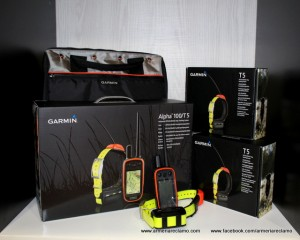 Garmin Alpha 100 y collares T5